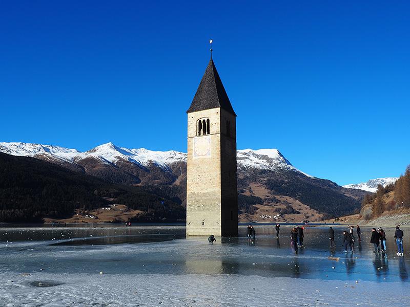 Rechensee - Kirchturm