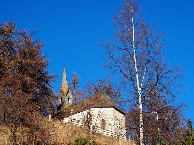 Rechensee, Graun - Kapelle