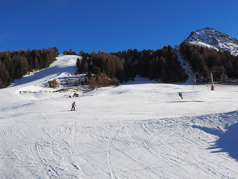 Skigebiet Rojen - Rechensee