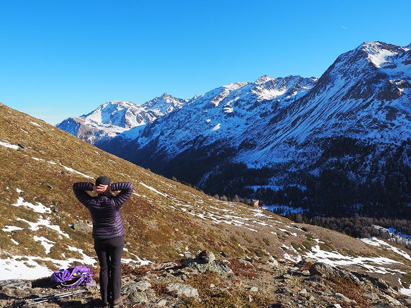 Wandern Madritschtal