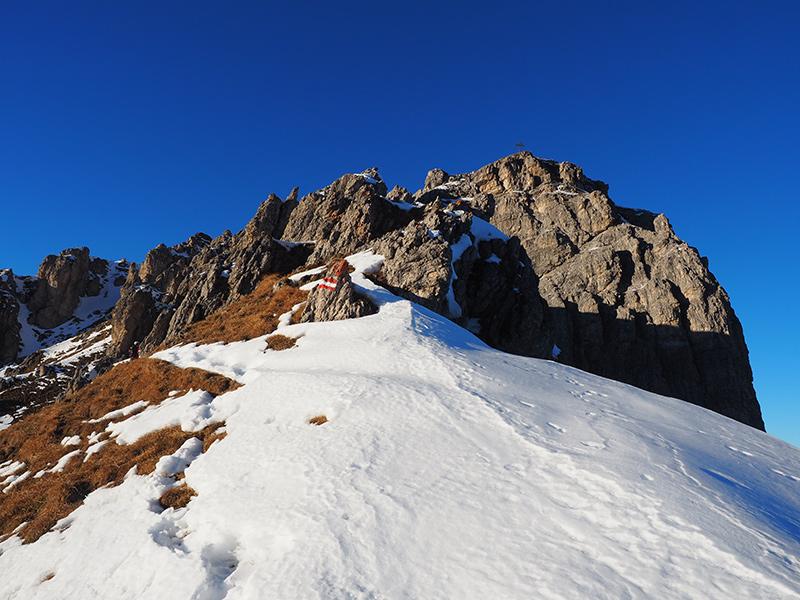 Winterwandern Hoher Burgstall