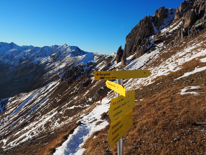 Wandern Neustift im Stubaital - Hoher Burgstall