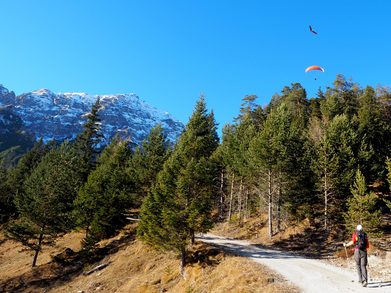 Wandern Telfes im Stubai - Jochkreuz
