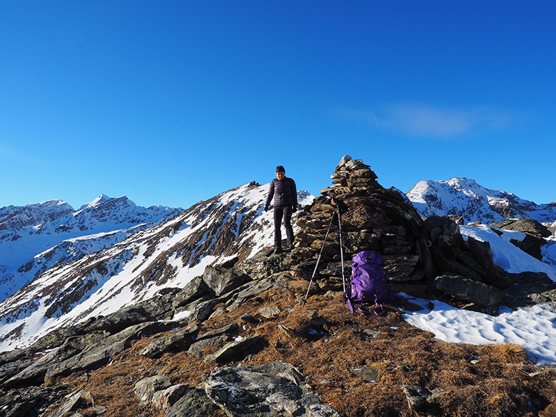 Auf den Vertainen - Gipfel