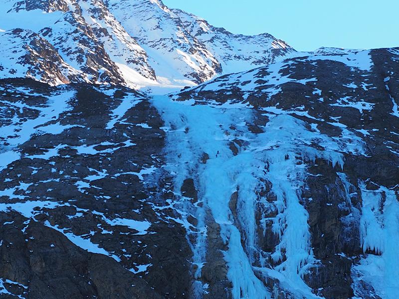 Zufallhütte Eiskletterer