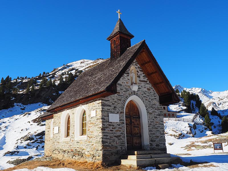 Zufallhütte - Kapelle