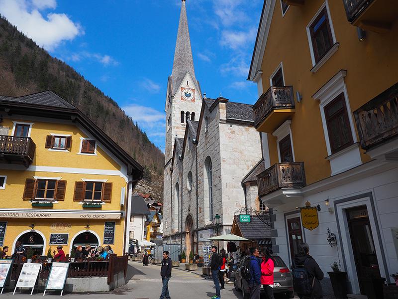 Hallstatt - Kirche