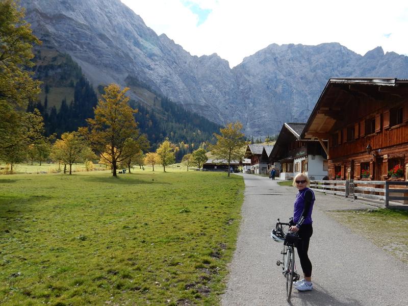 Rennradtour Karwendel - Eng