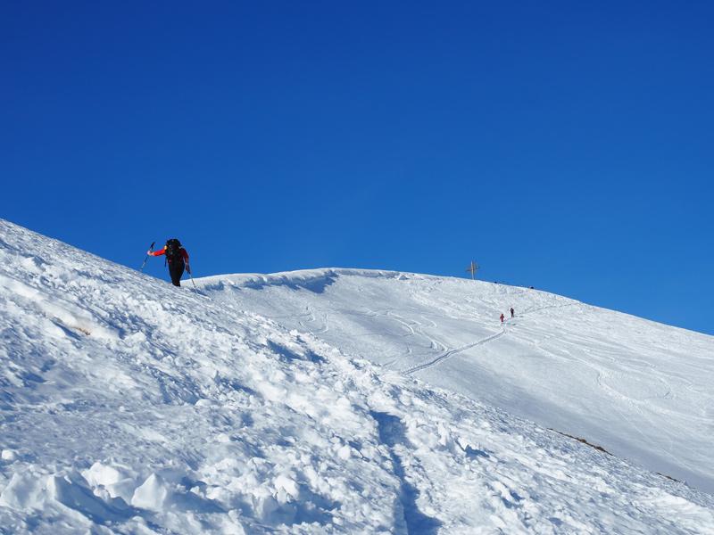 Schneeschuhwandern Galtjoch