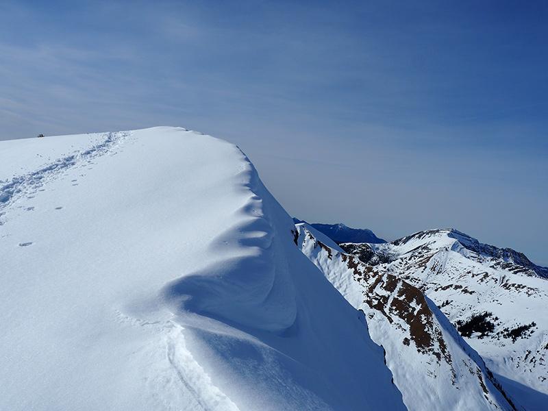 Schneeschuhwandern Fleischbank