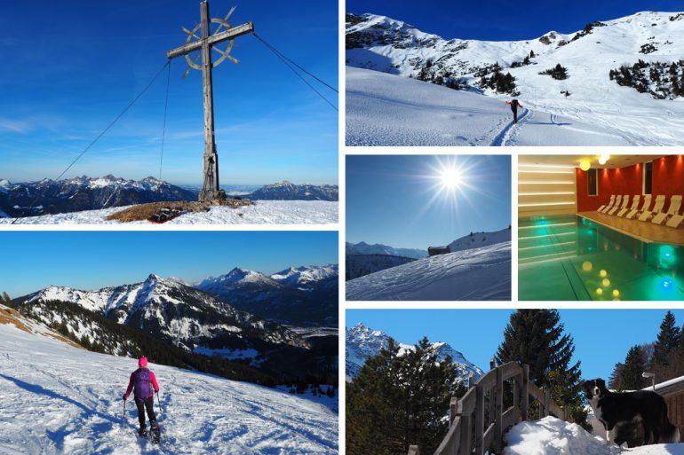 Schneeschuhwandern Lechtal