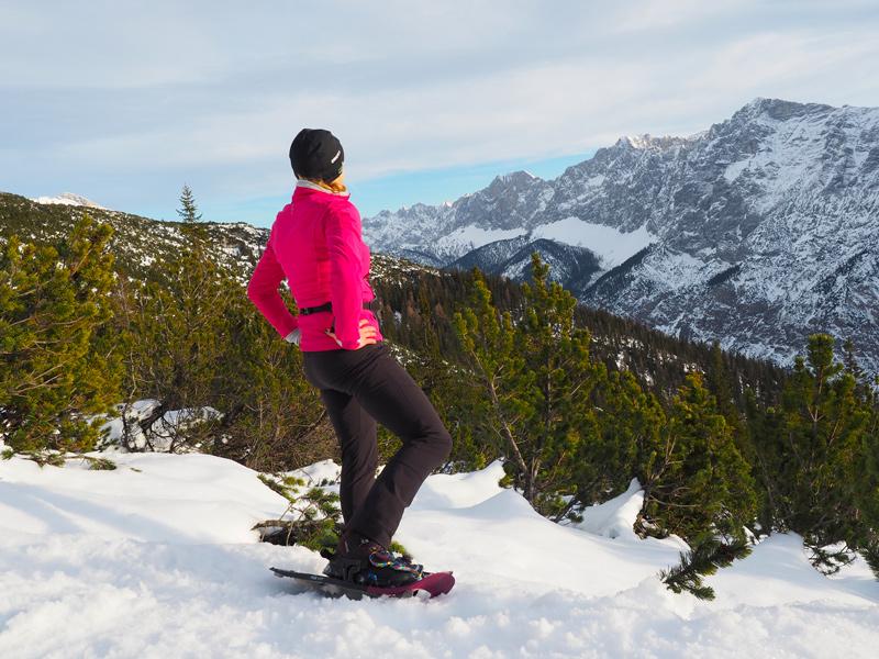 Schneeschuhwandung Pleisenhütte