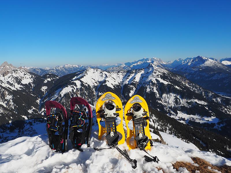 Krinnenspitze - Schneeschuhe