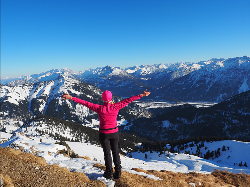 Krinnenspitze Winterwanderung