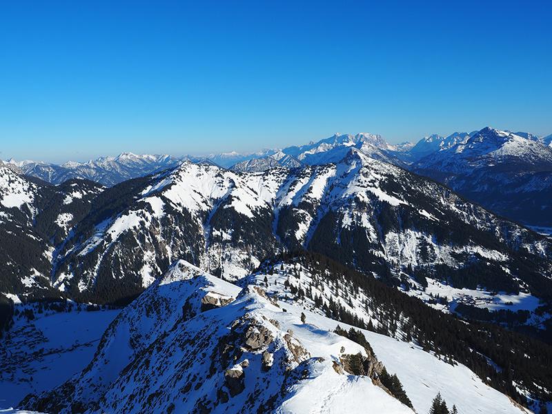 Winterwandern Krinnenspitze