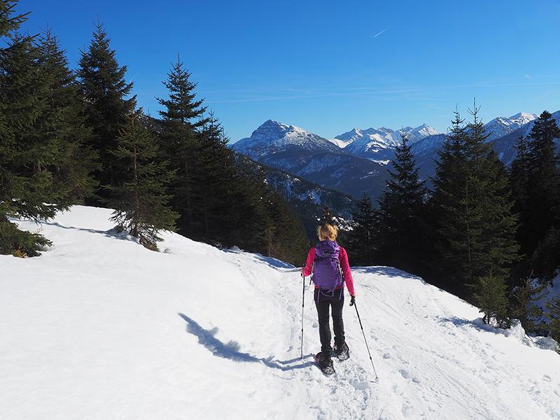 Schneeschuhwanderung Rauth - Krinnenspitze