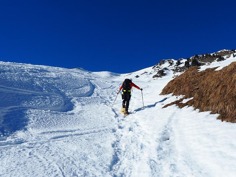 Schneeschuhwandern Krinnenspitze