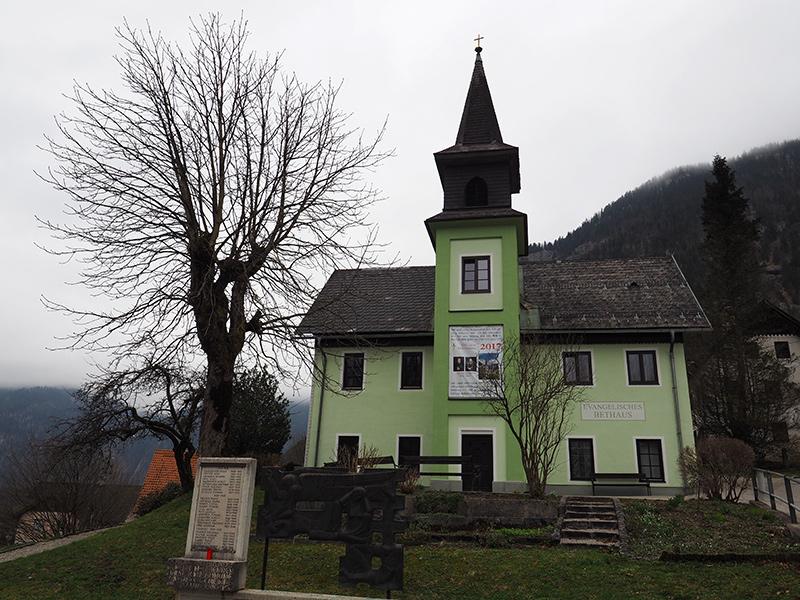Winterwandern Obertraun - Hoher Sarstein, Kirche