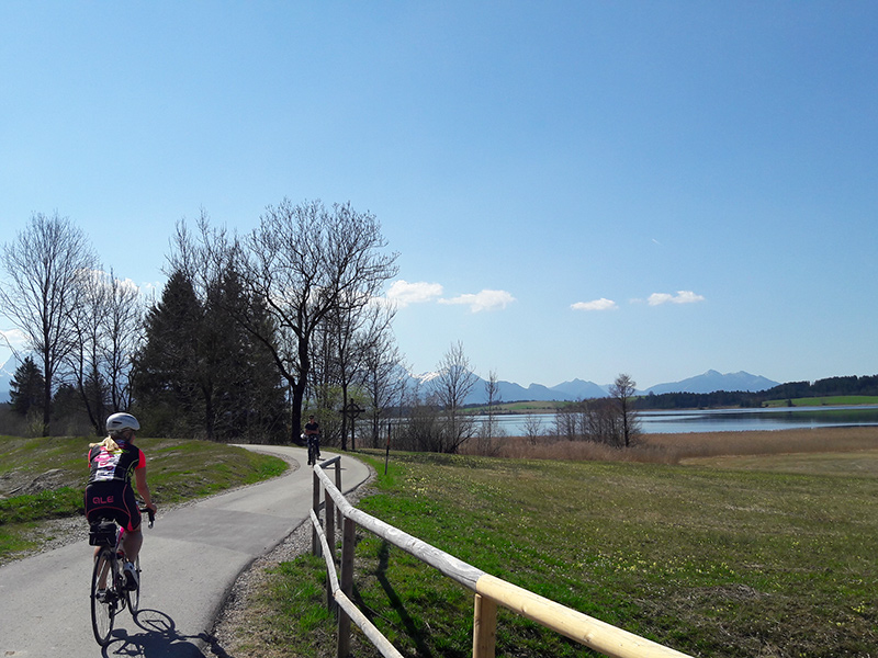 Rennradtour Bannwaldsee