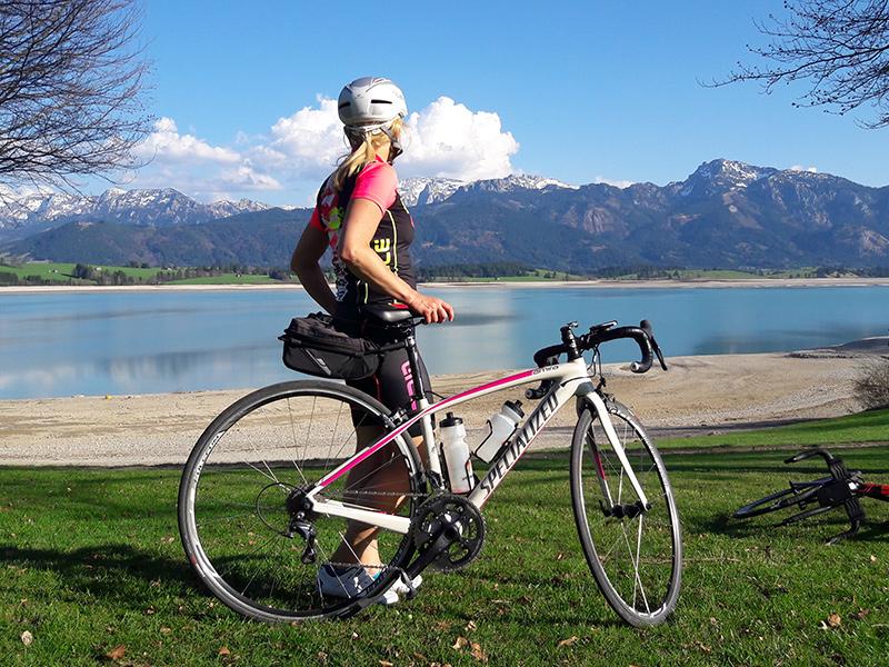 Rennradtour Forggensee
