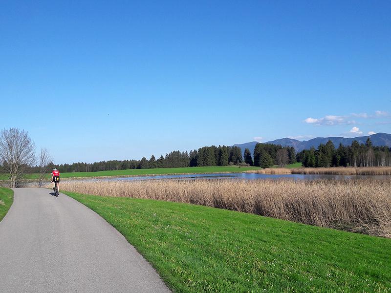 Rennradtour Forggensee - Lechbruck