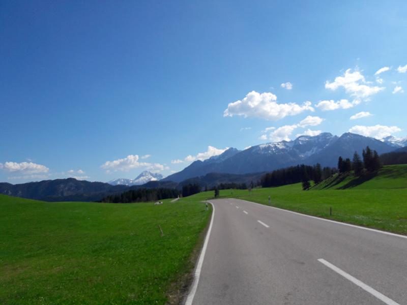 Rennradtour Füssen - Hopfensee
