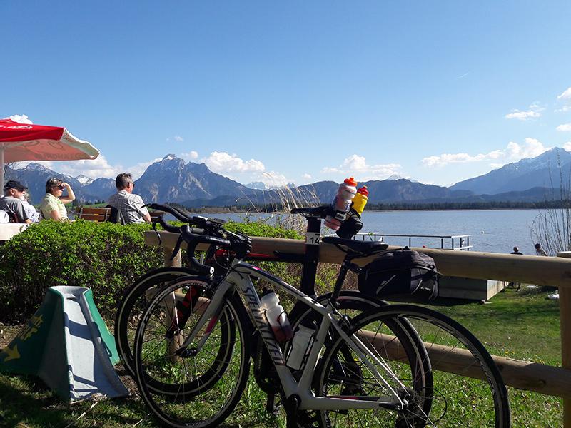 Rennradtour Hopfensee