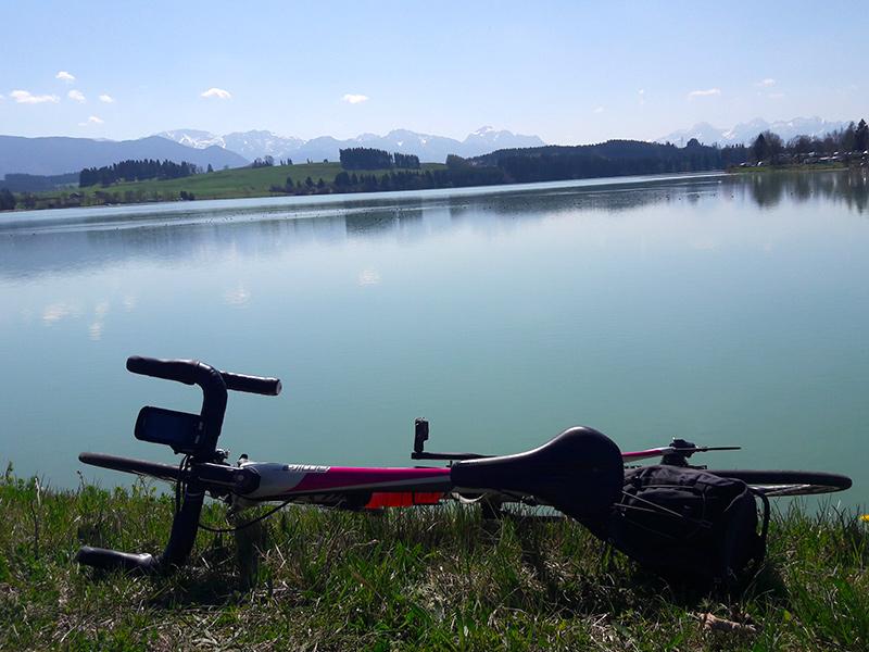 Rennradtour Lechstausee