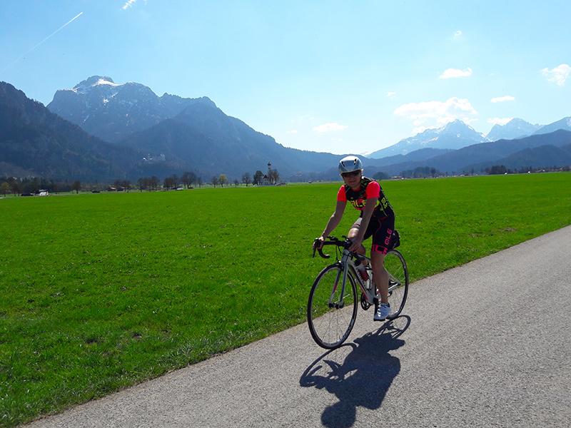 Rennradtour Schloss Neuschwanstein