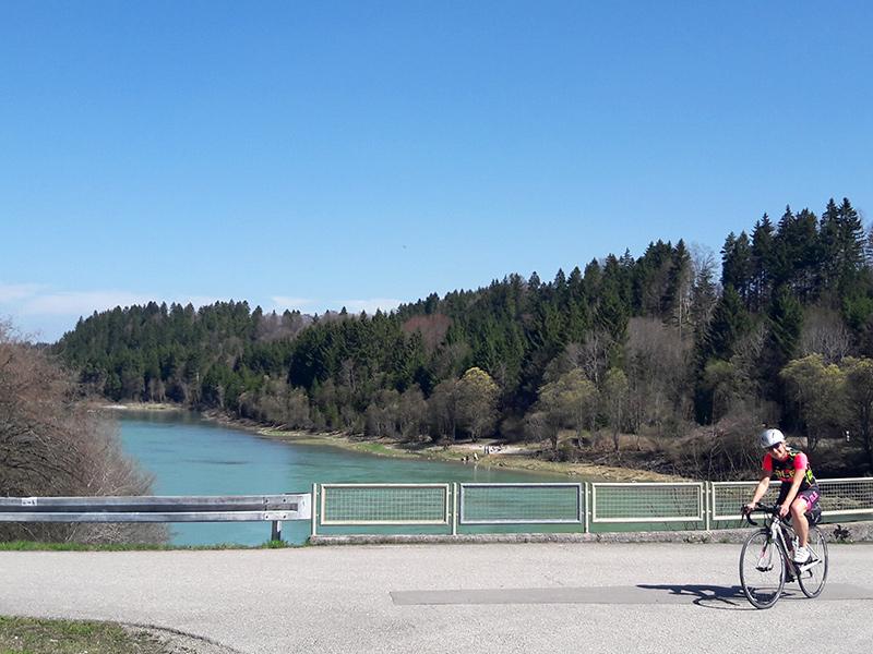 Rennradtour Schongau-Füssen