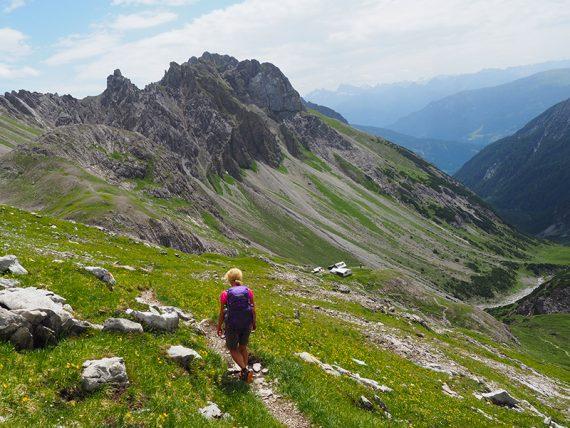 Wandern Lechtal