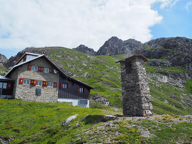 Württemberger Haus im Lechtal
