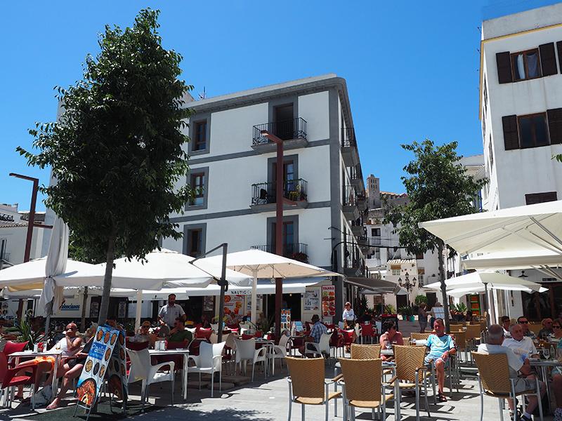 Eivissa -Altstadt Cafe