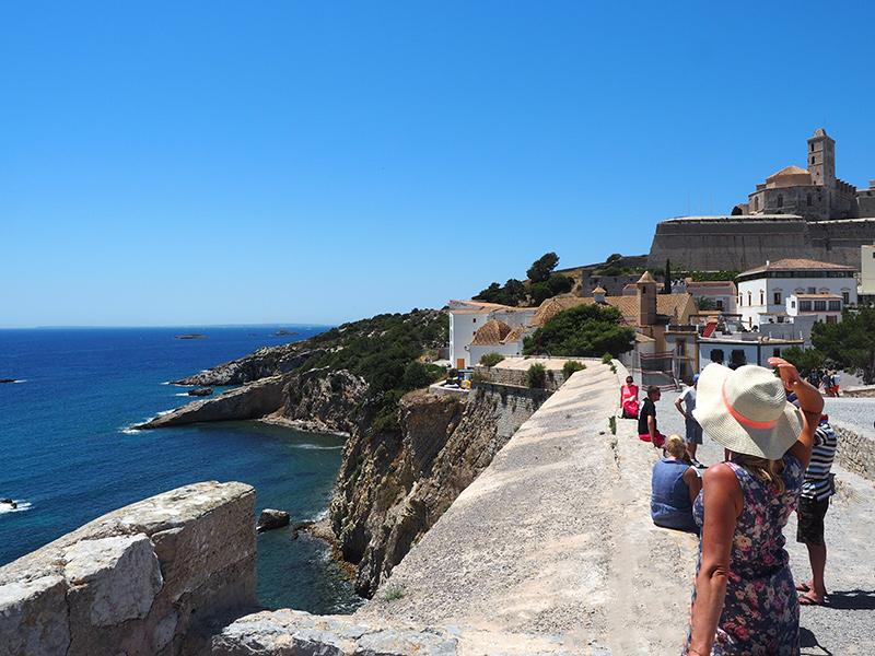 Eivissa -Altstadt