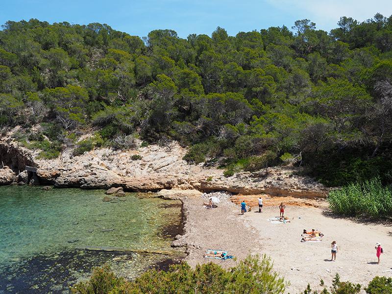 Ibiza - Portinatx Bucht