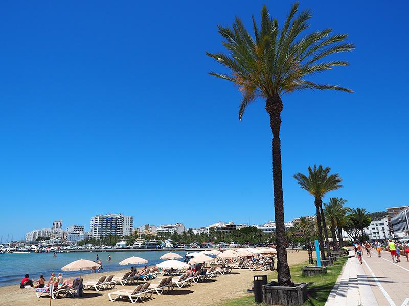 Ibiza - San Antoni de Portmany - Promenade