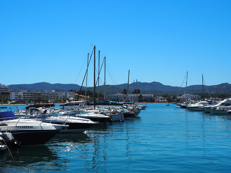 Ibiza - San Antoni de Portmany Hafen