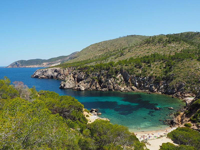 Ibiza - herrliche Bucht