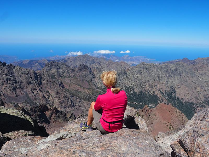 Wandern auf Korsika auf dem GR20