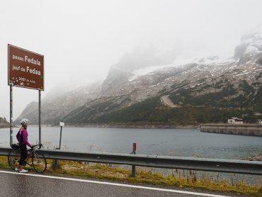 Rennradtour Fedaia Pass