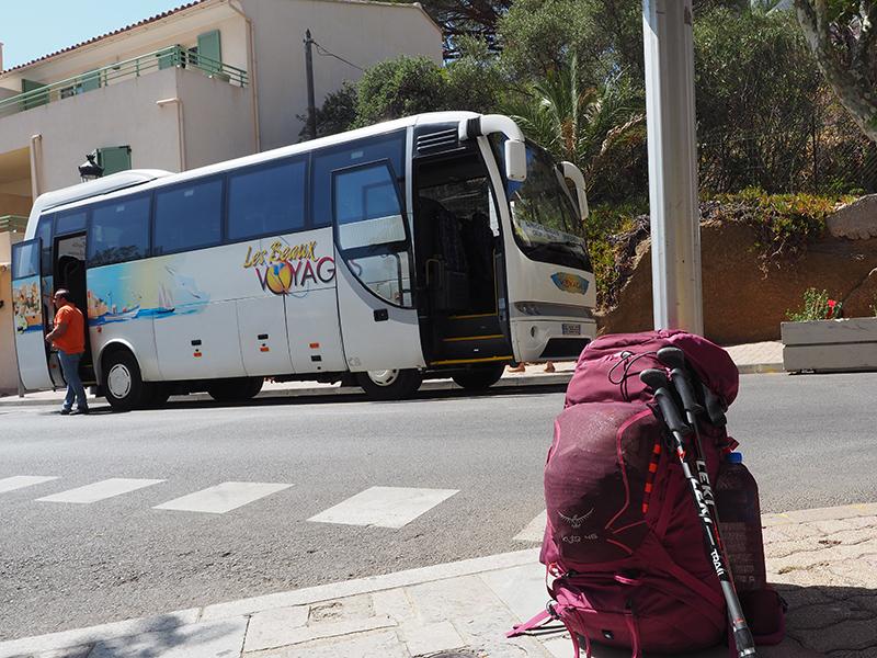 Korsika, Bus von Calvi nach Calanzana