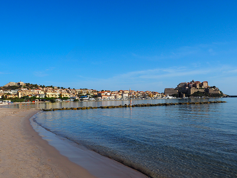 Korsika, Calvi - Strand