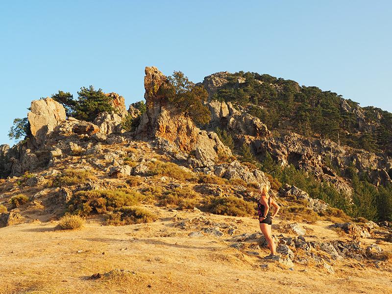 Wandern auf dem GR20 auf Korsika - von Calanzana zum Refuge d'Ortu di u Piobbu, Bocca a u Salutu