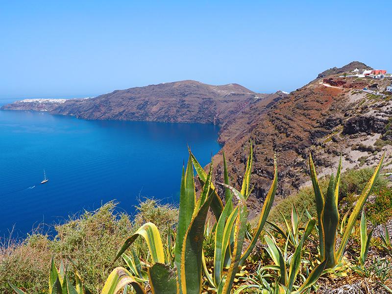 Santorin - Wandern von Fira nach Oia