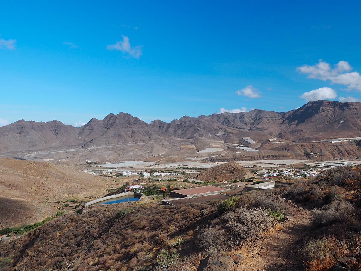 Wandern La Aldea de San Nicolas - Guigui