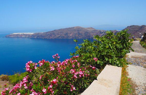 Wanderung auf Santorini von Fira nach Oia