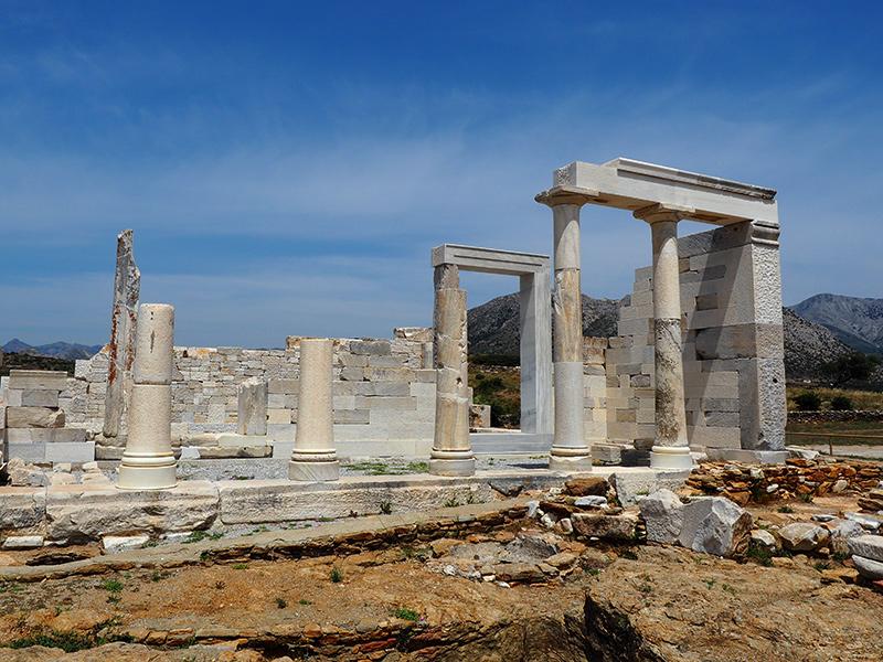 Demeter Tempel von Sangri