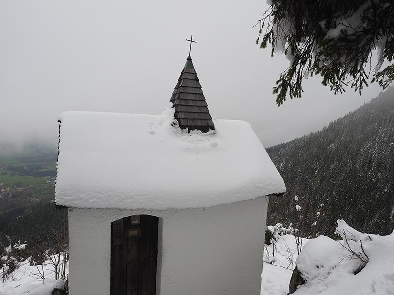 Winterwandern Breitenstein - Kapelle