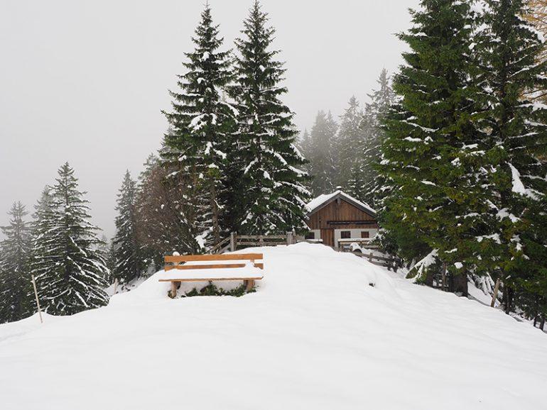 Winterwandern Breitenstein-Kesselalm