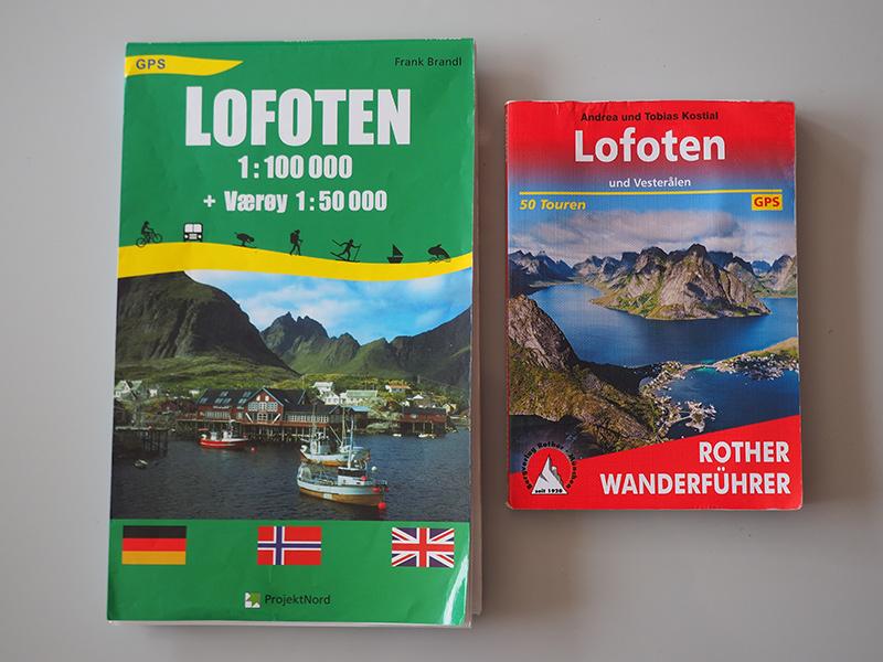 Lofoten Reiseplanung - Wanderführer & Karte